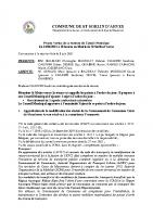 compte rendu réunion conseil municipal du 14 juin 2021